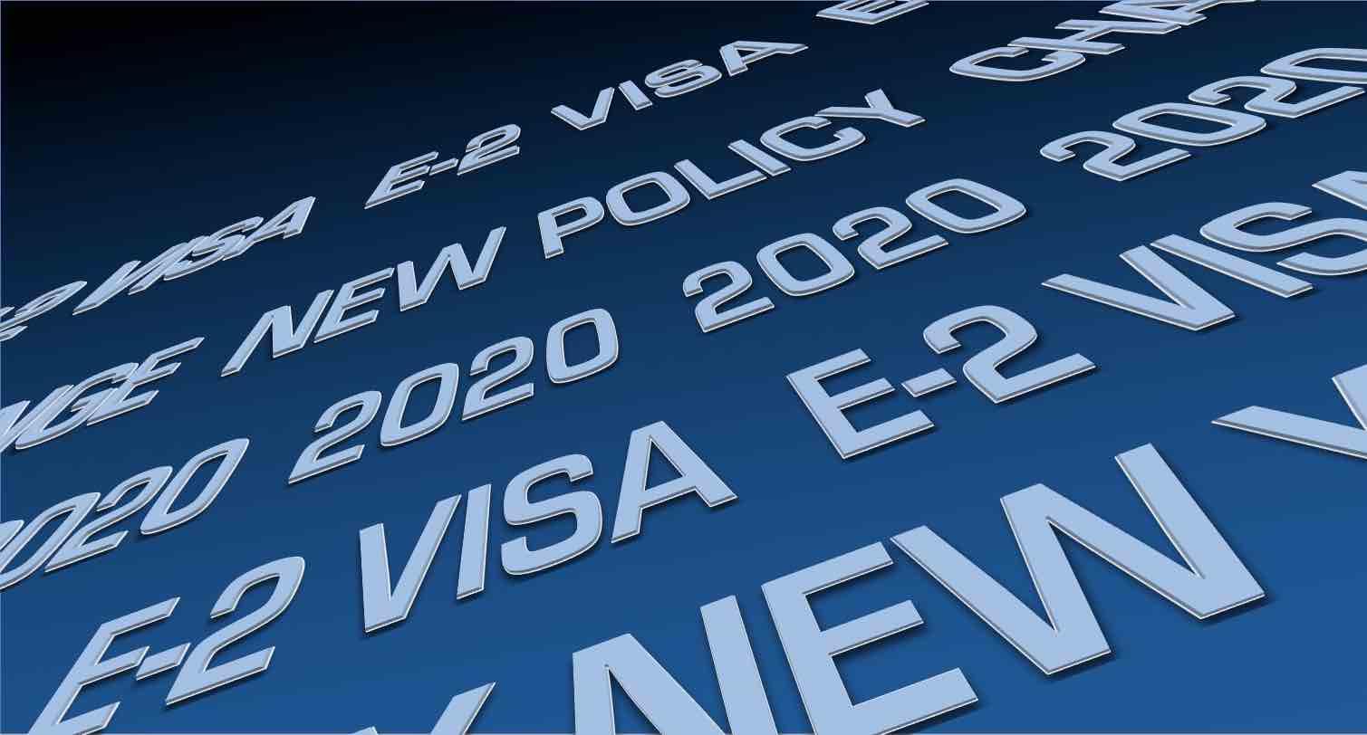 5 cambios de visas E2 en 2020